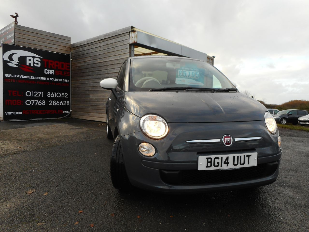 FIAT 500 1.2i Colour Therapy S/S - Picture 1