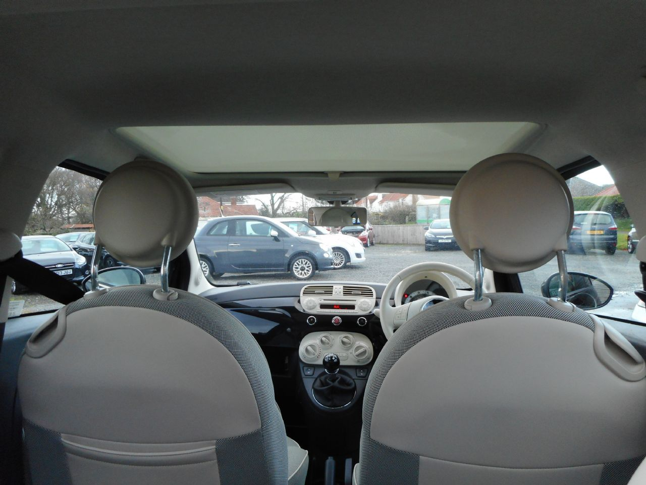 FIAT 500 1.2i Lounge S/S - Picture 4