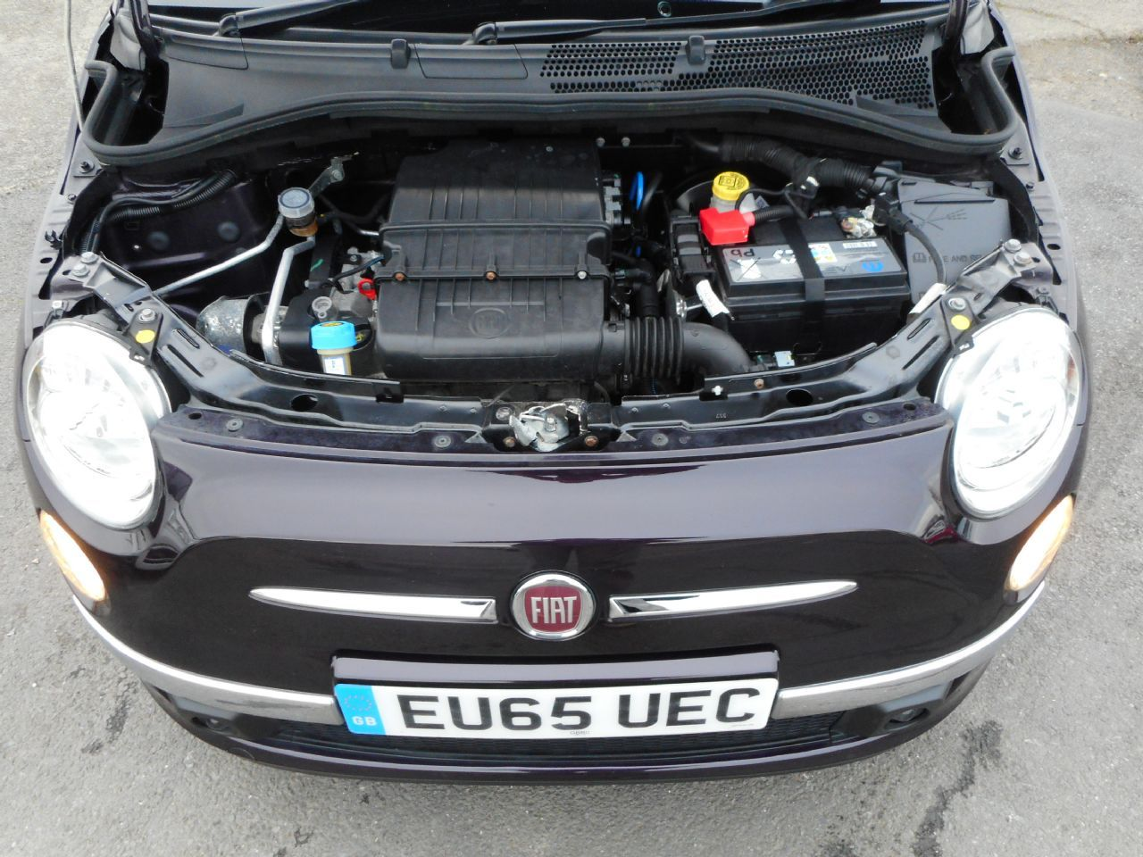 FIAT 500 1.2i Lounge S/S - Picture 10