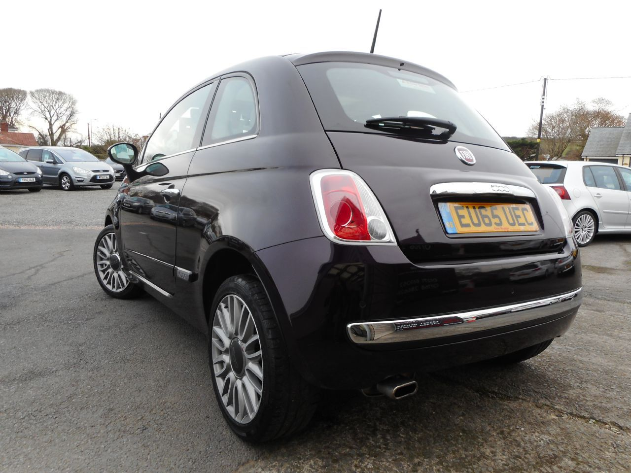 FIAT 500 1.2i Lounge S/S (2015) - Picture 3