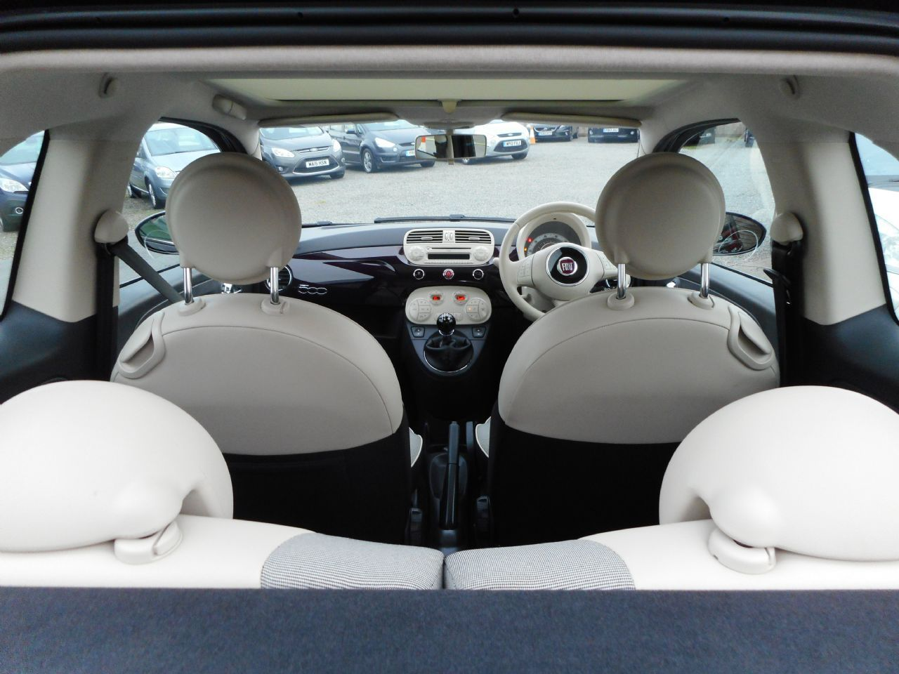 FIAT 500 1.2i Lounge S/S - Picture 7