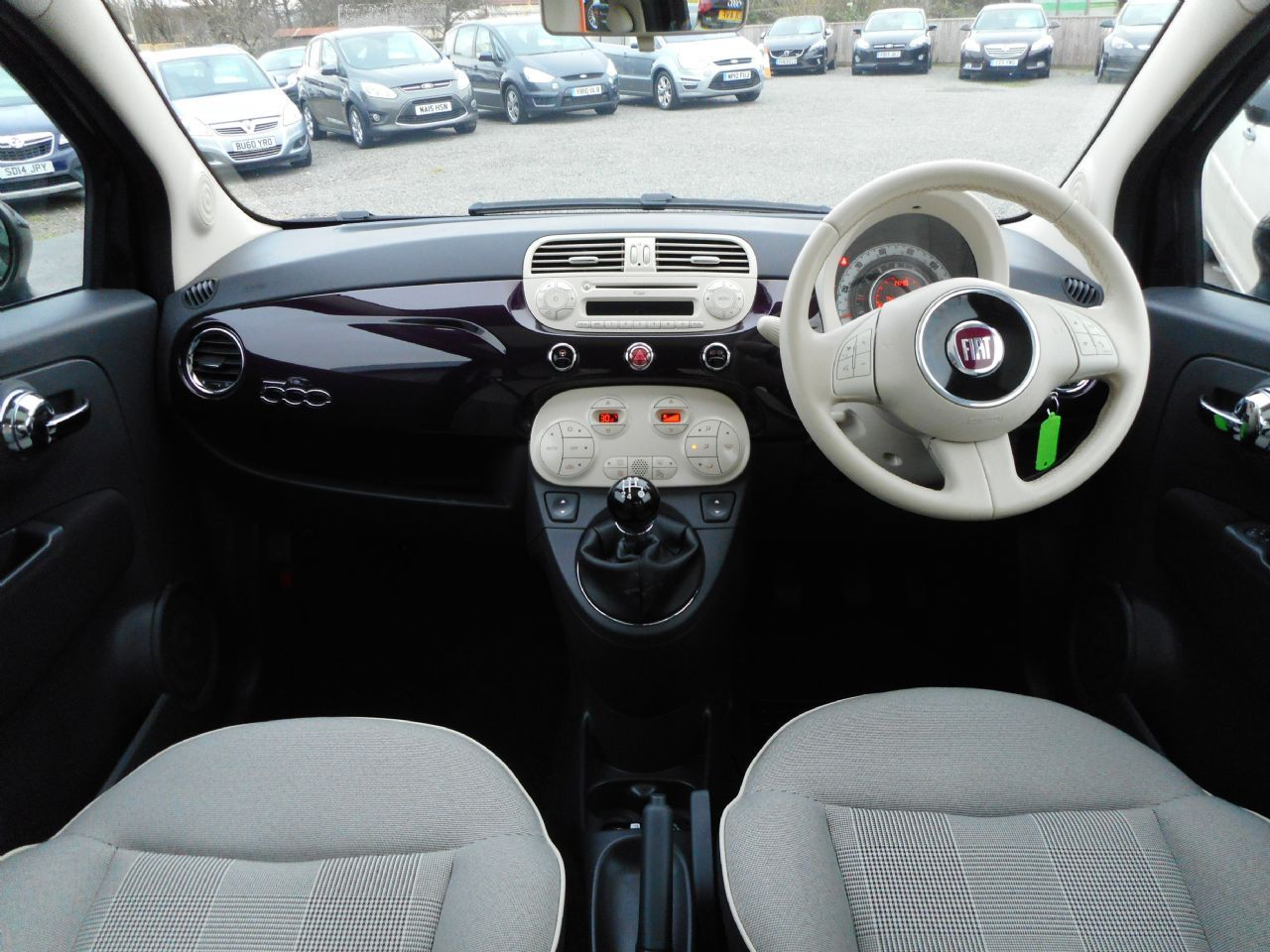 FIAT 500 1.2i Lounge S/S - Picture 8