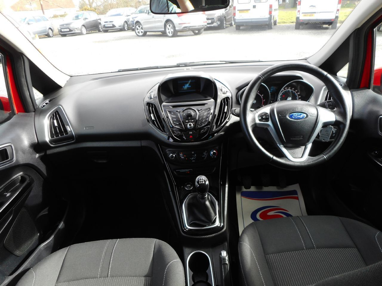FORD B-MAX 1.4 90PS Zetec (2013) - Picture 10