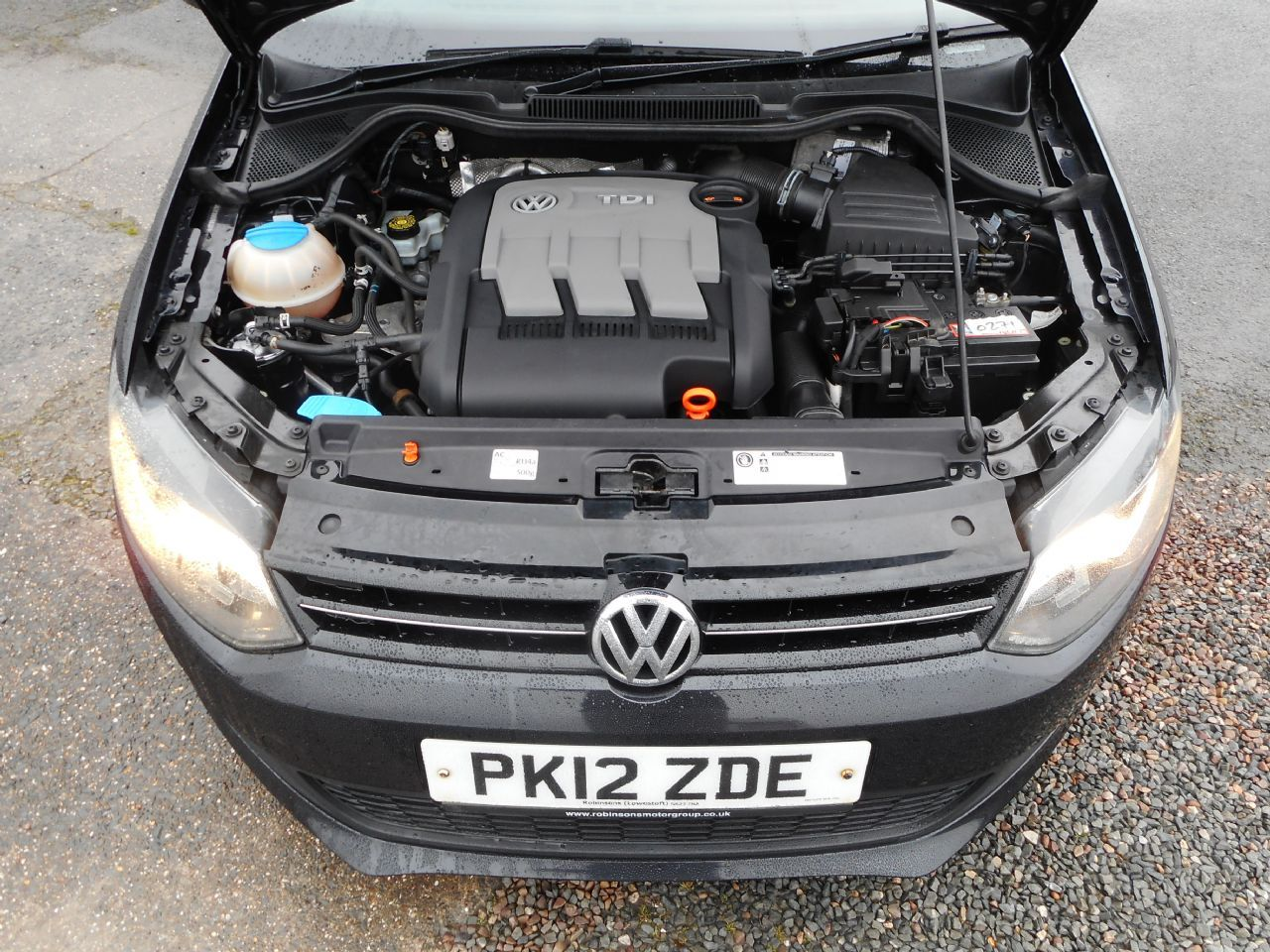 VOLKSWAGEN POLO 1.2 TDI 75 PS Match (2012) - Picture 17