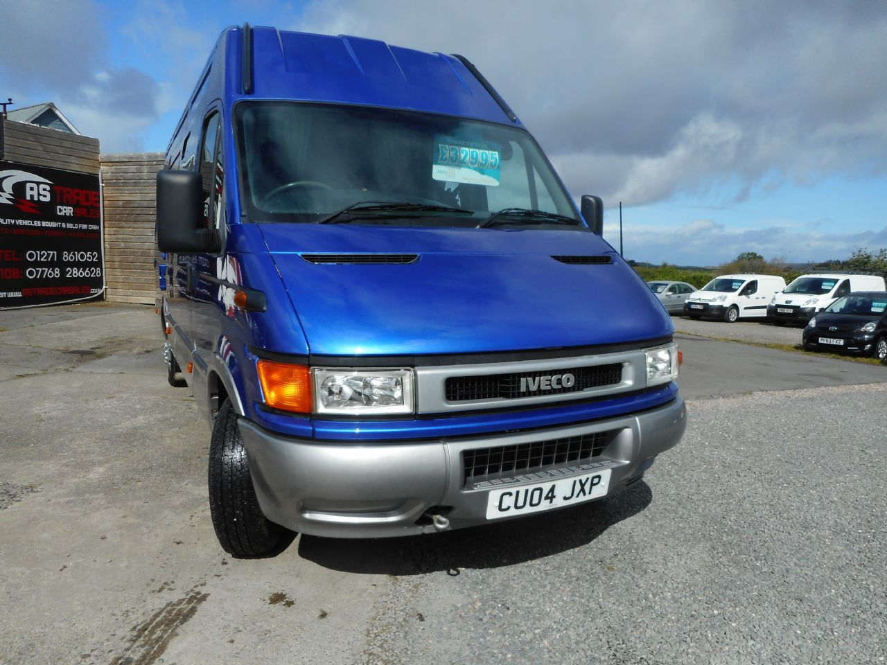 IVECODAILY35S12D W/B 3450 for sale