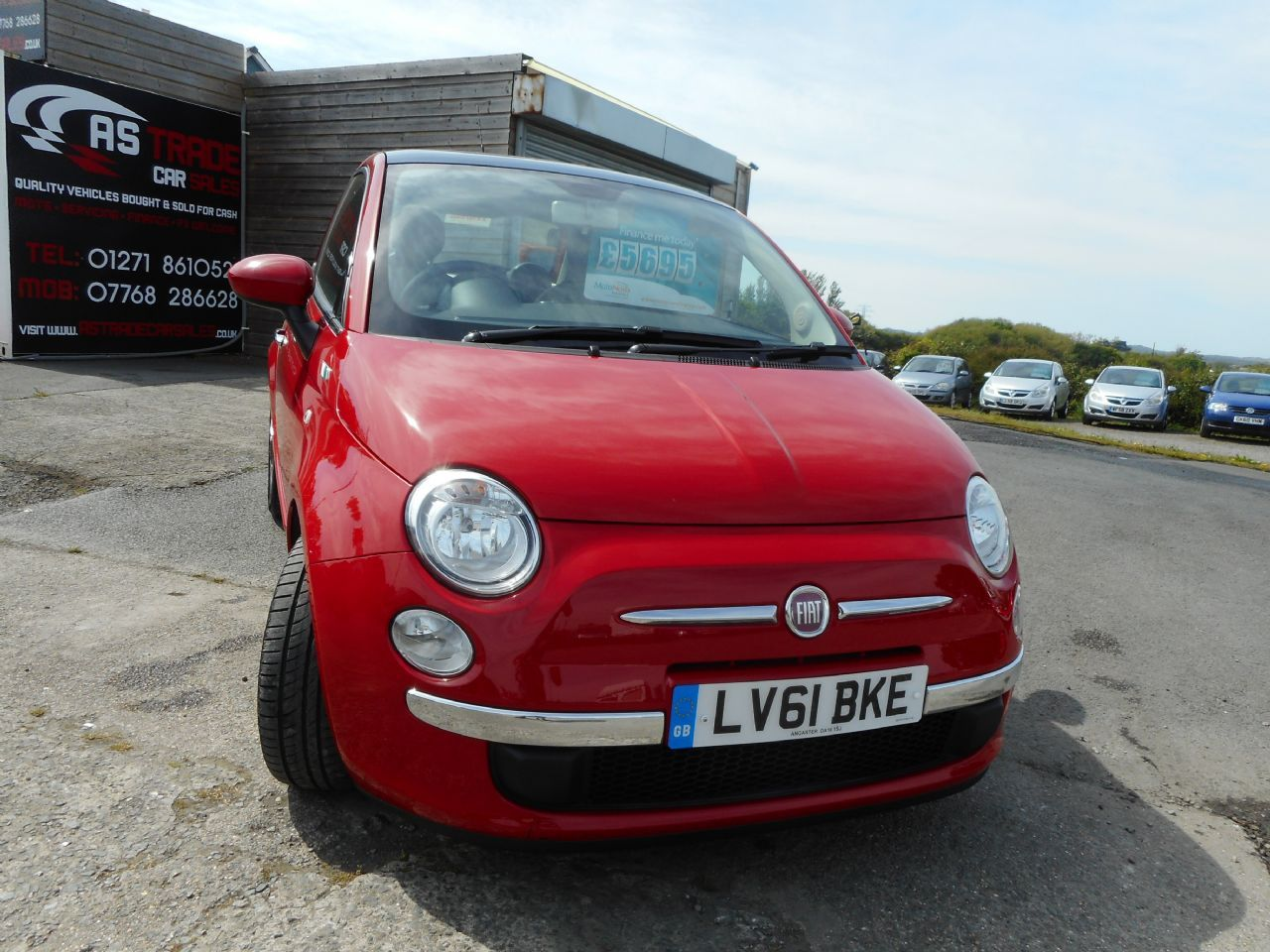 FIAT5001.2i Lounge S/S AUTO for sale