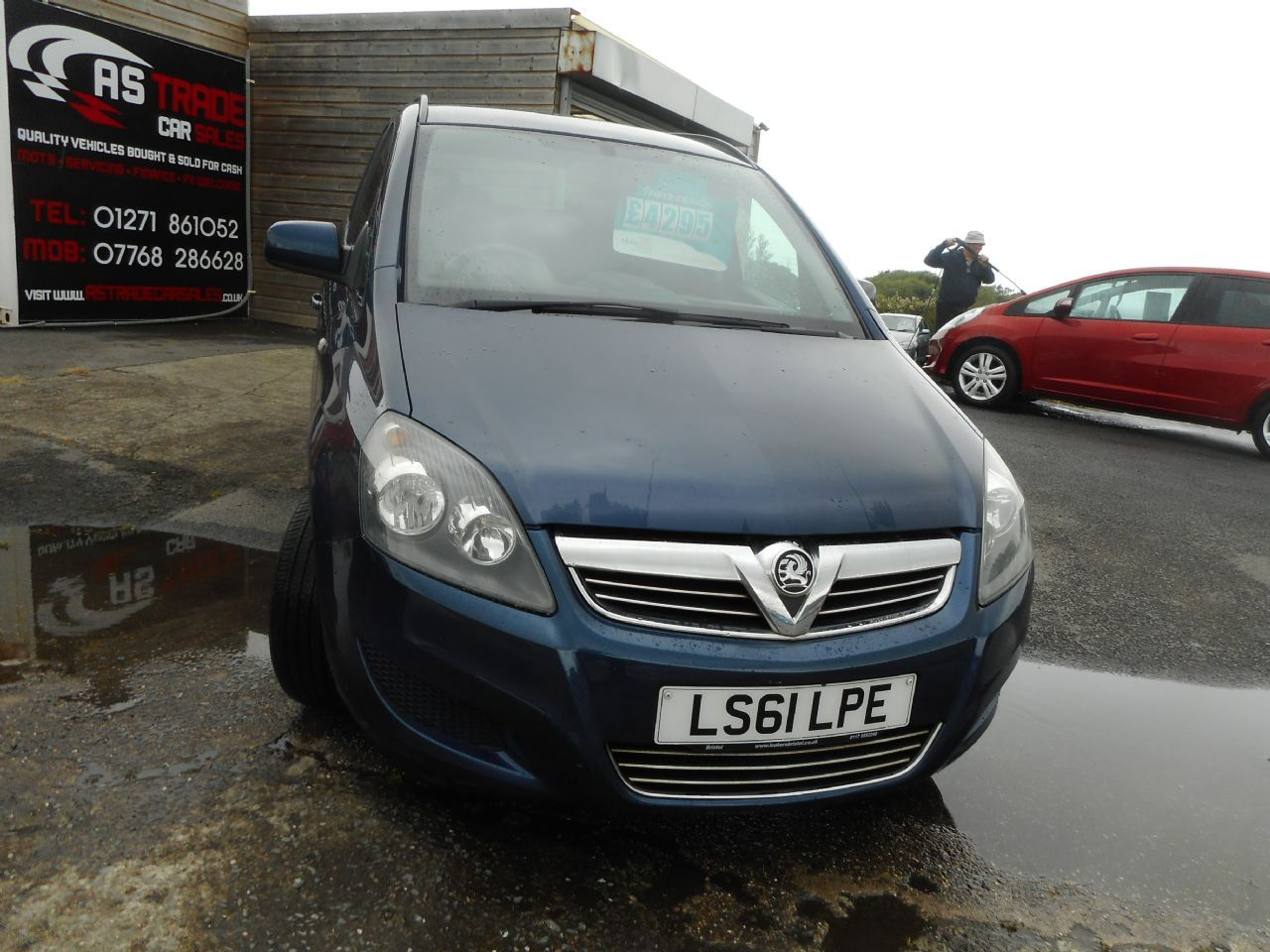 VAUXHALLZAFIRAEXCLUSIV 1.6i 16v VVT for sale