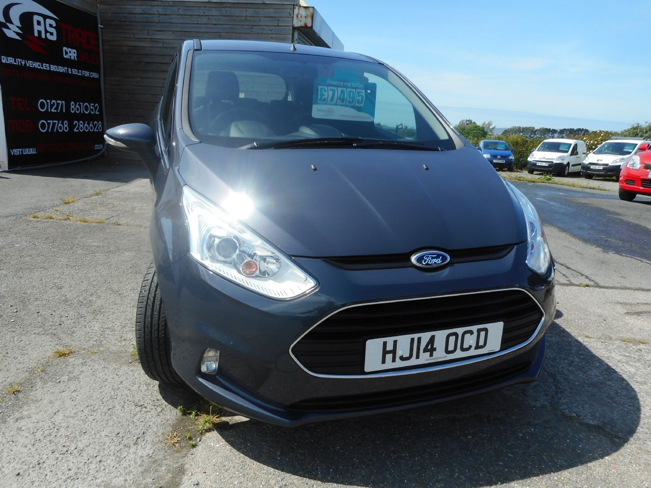 FORDB-MAX1.6 105PS PowerShift Zetec for sale