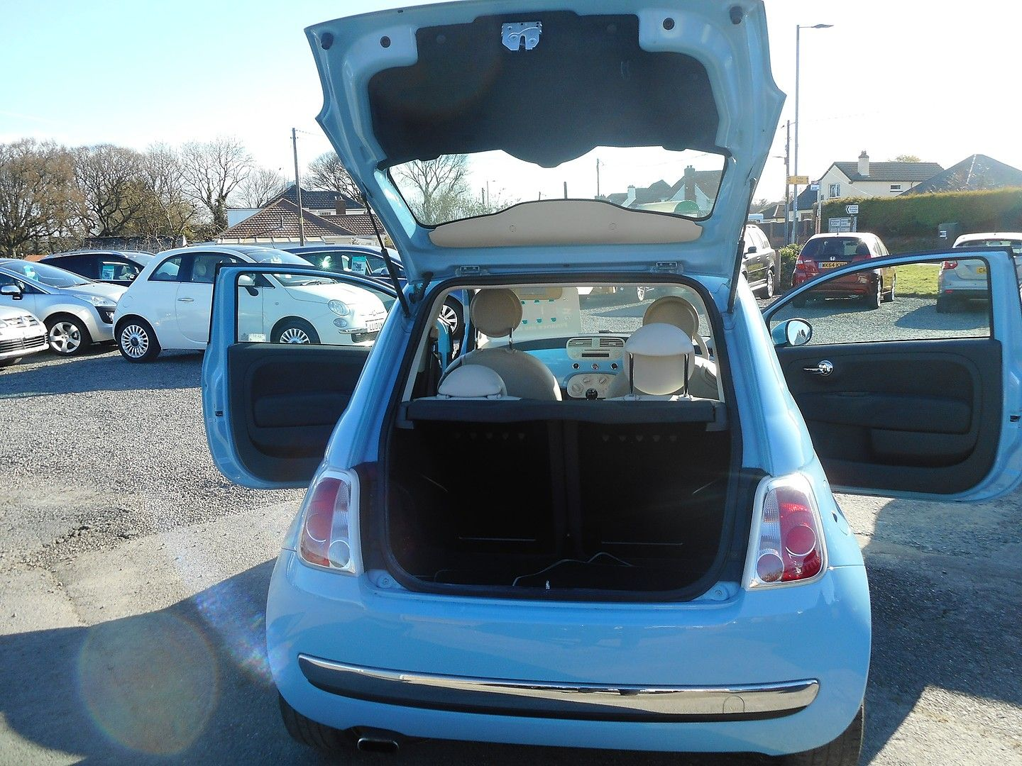 FIAT 500 1.2i Lounge S/S (2014) - Picture 14