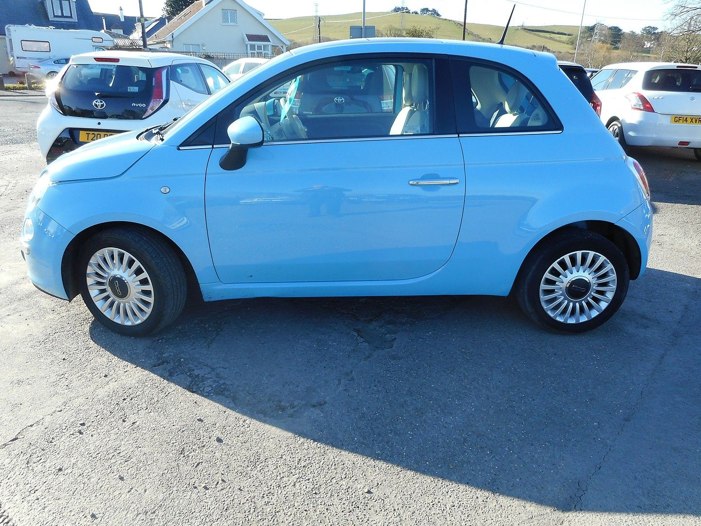 FIAT 500 1.2i Lounge S/S (2014) - Picture 2