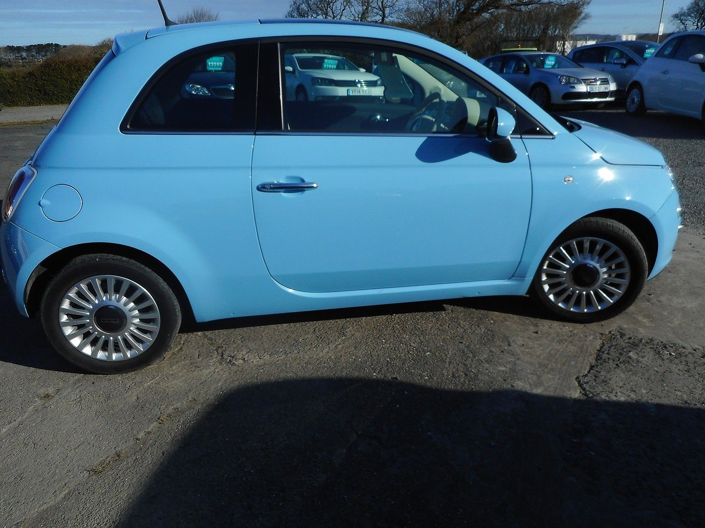 FIAT 500 1.2i Lounge S/S (2014) - Picture 3