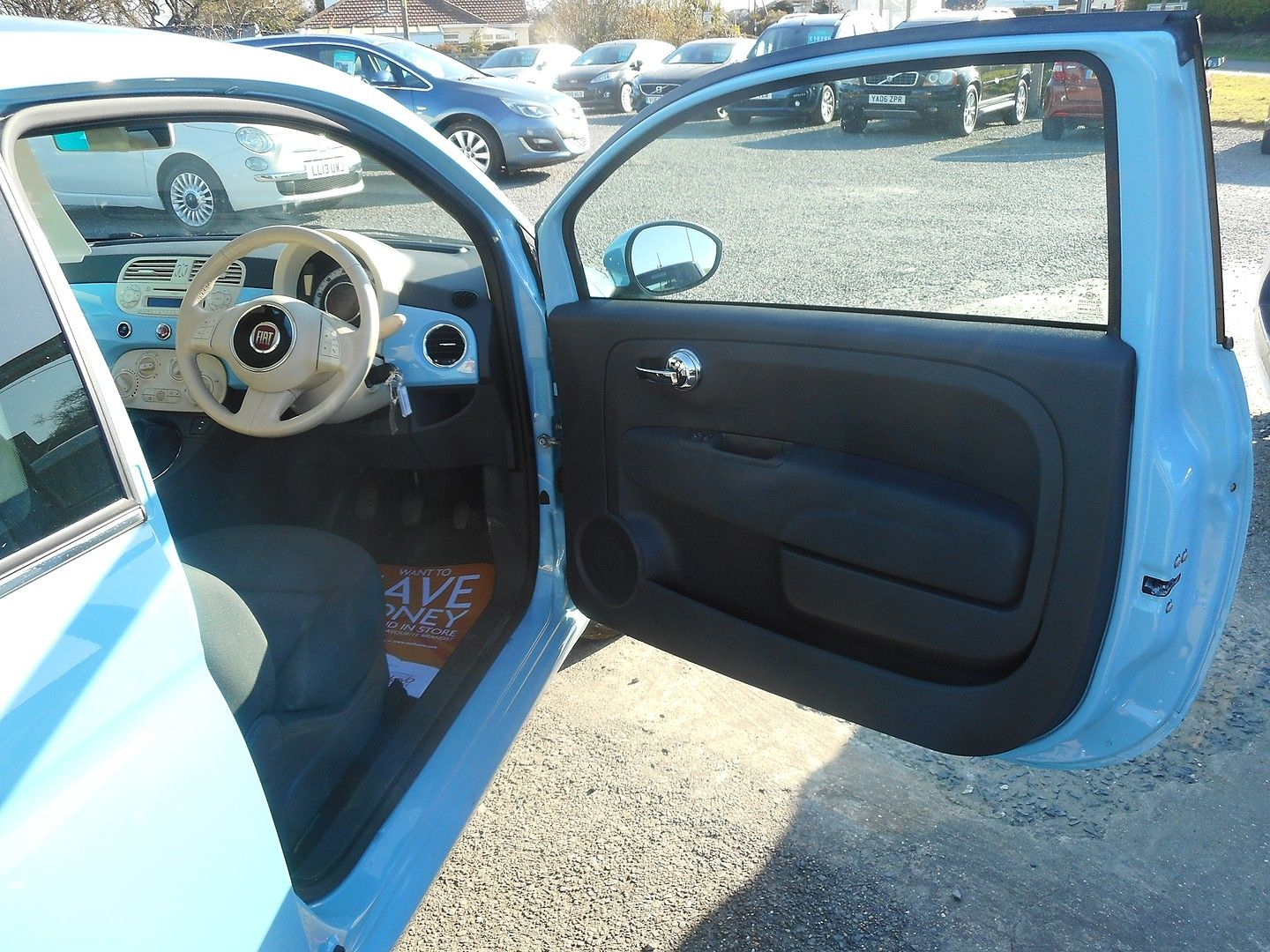 FIAT 500 1.2i Lounge S/S (2014) - Picture 8