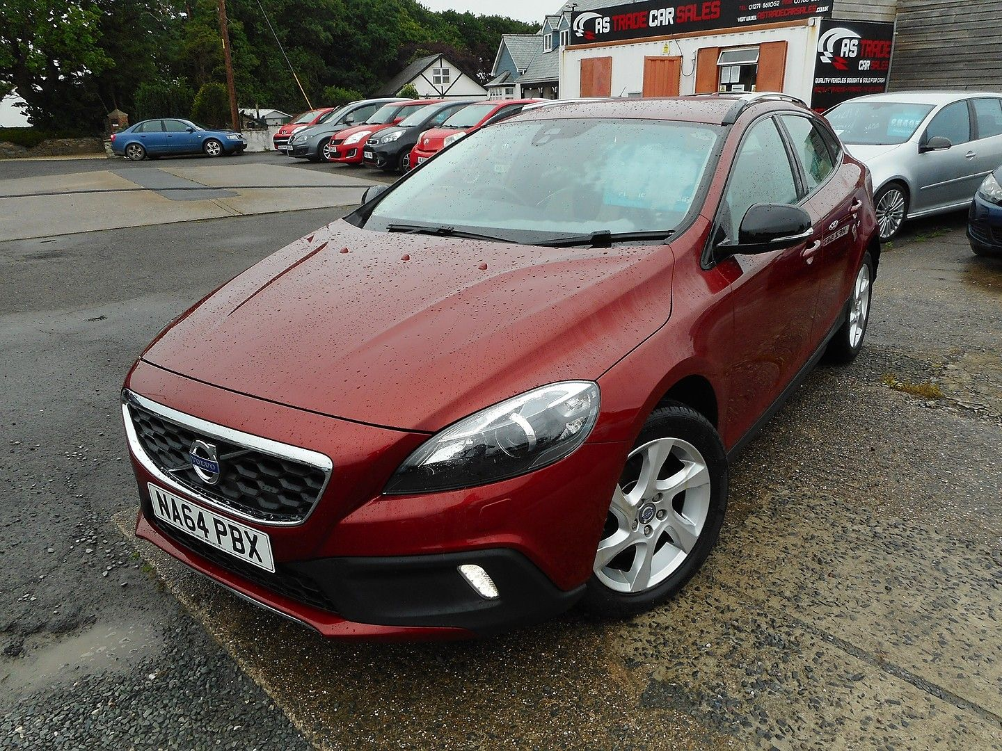 VOLVO V40 D2 (115hp) Start/Stop Cross Country Lux (2014) - Picture 3