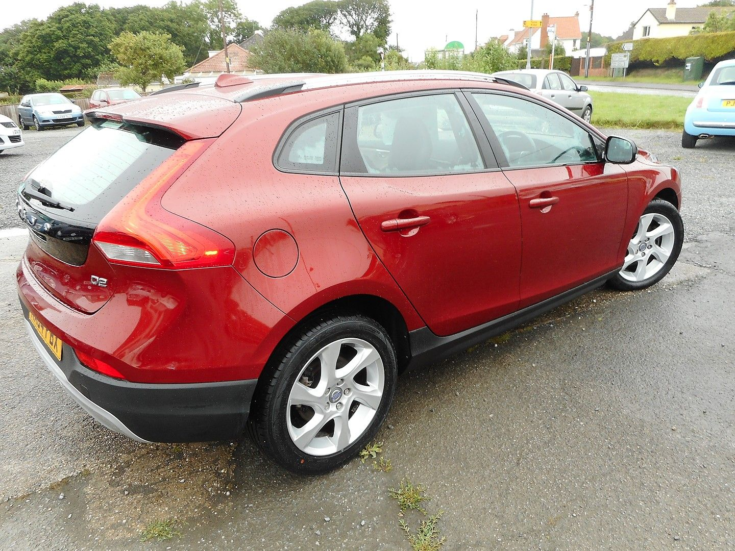 VOLVO V40 D2 (115hp) Start/Stop Cross Country Lux (2014) - Picture 4