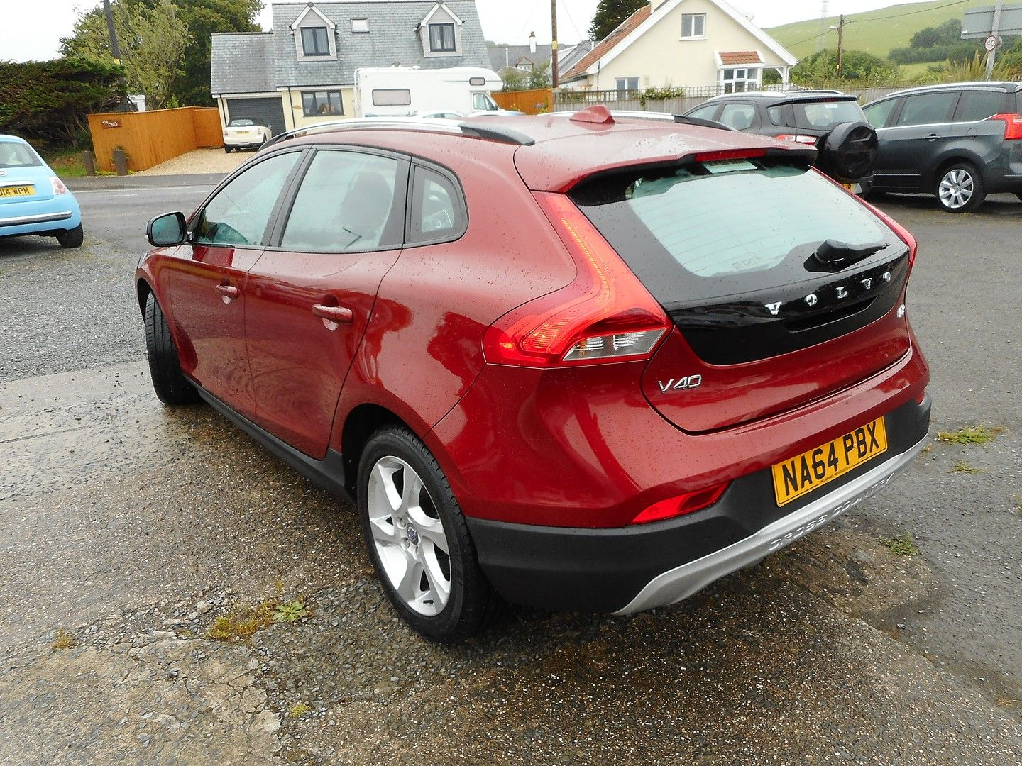 VOLVO V40 D2 (115hp) Start/Stop Cross Country Lux (2014) - Picture 5