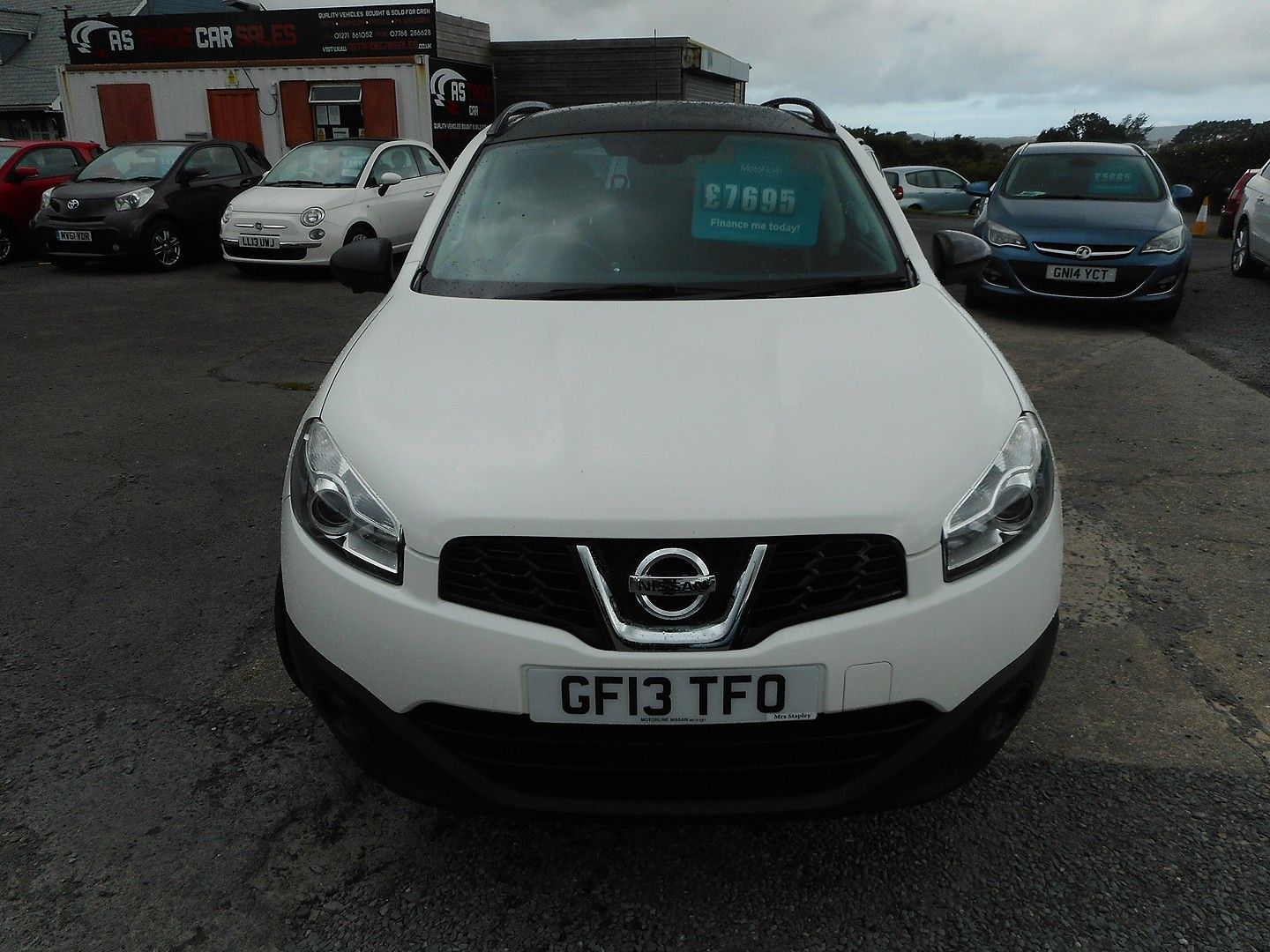 NISSAN QASHQAI 360 1.5 dCi 7 SEATER (2013) - Picture 2