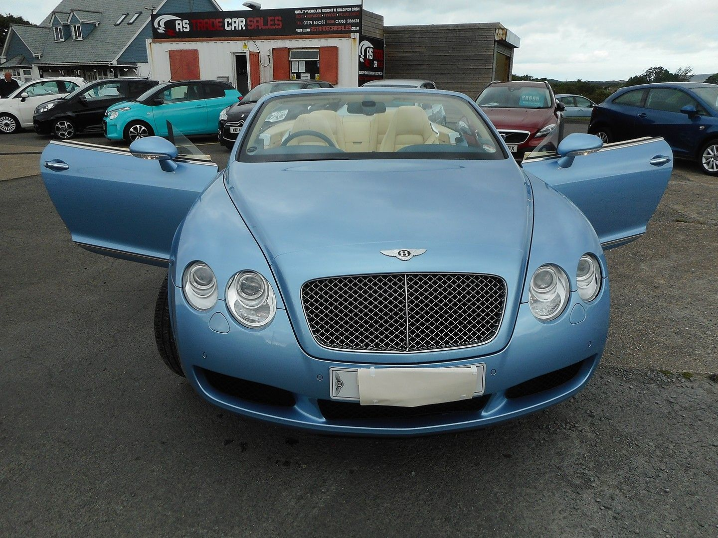 BENTLEY Continental GTC (2007) - Picture 14
