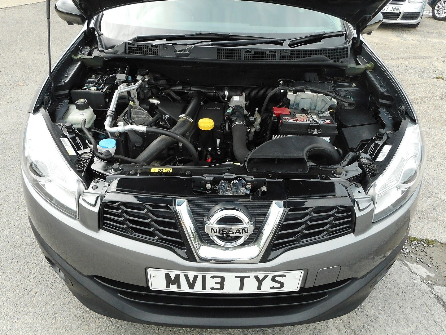 NISSAN QASHQAI+2   7 SEATER 360 1.5 dCi (2013) - Picture 15