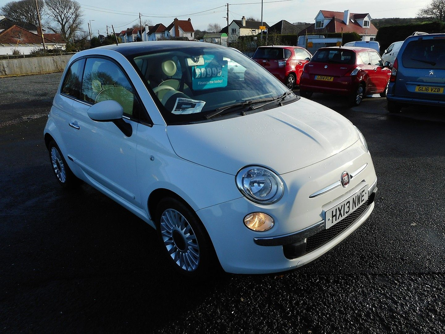 FIAT 500 1.2i Lounge S/S automatic (2013) - Picture 2