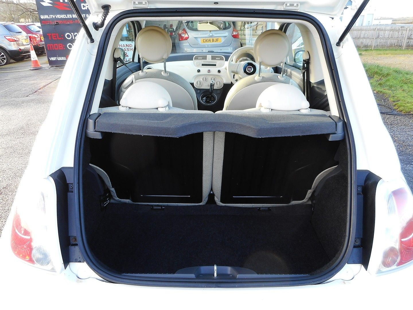 FIAT 500 1.2i Lounge S/S automatic (2013) - Picture 20