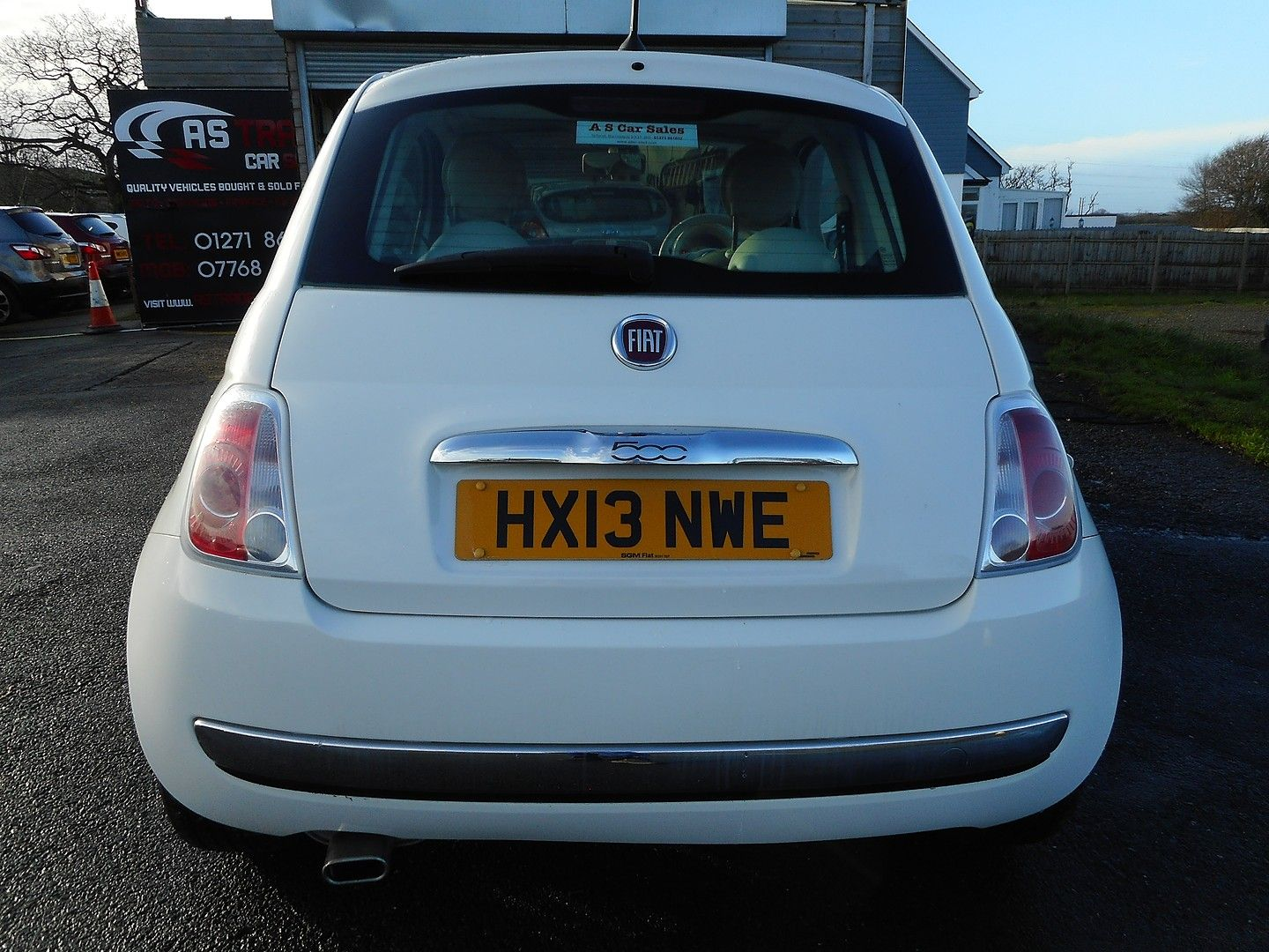 FIAT 500 1.2i Lounge S/S automatic (2013) - Picture 21