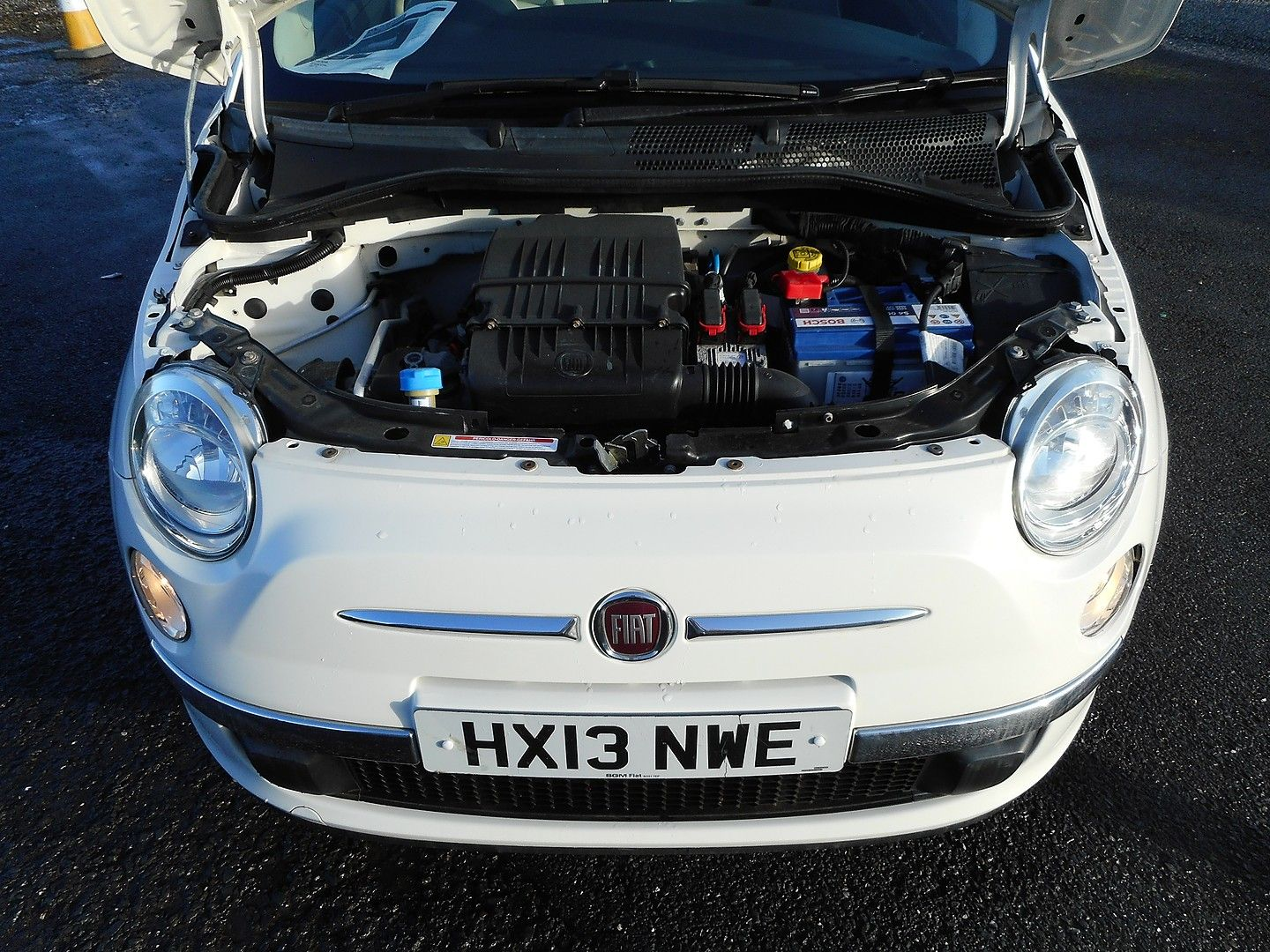 FIAT 500 1.2i Lounge S/S automatic (2013) - Picture 22