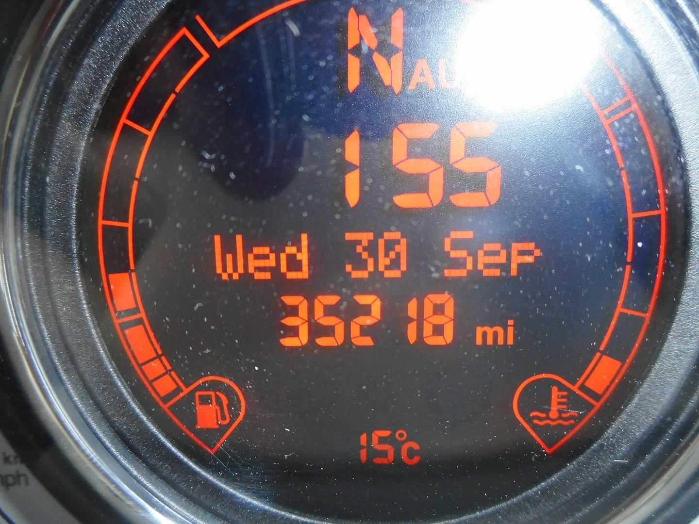FIAT 500 1.2i Lounge S/S automatic (2013) - Picture 9