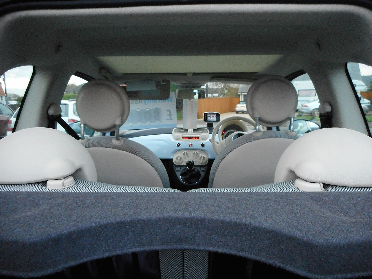 FIAT 500 1.2i Lounge (2010) - Picture 11