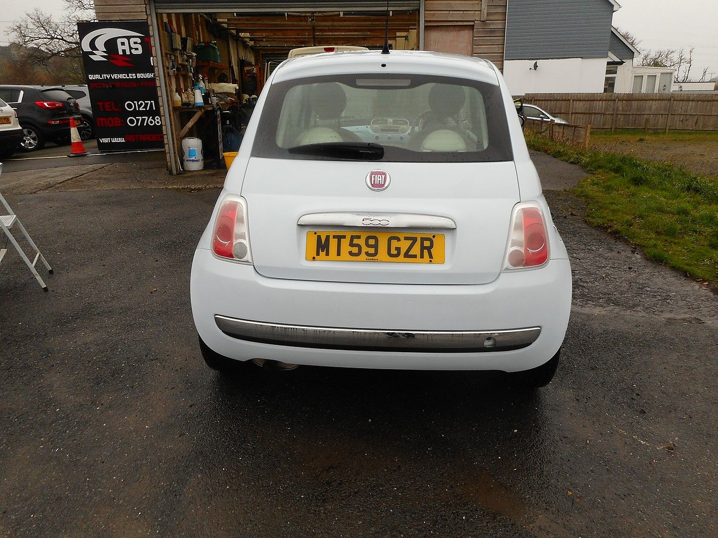 FIAT 500 1.2i Lounge (2010) - Picture 4