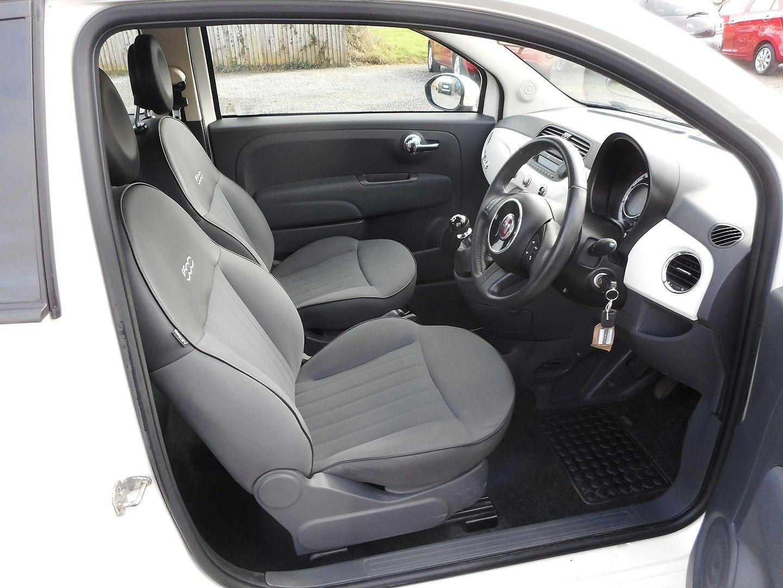 FIAT 500 1.2i Pop Convertible (2011) - Picture 14