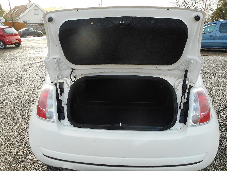 FIAT 500 1.2i Pop Convertible (2011) - Picture 8